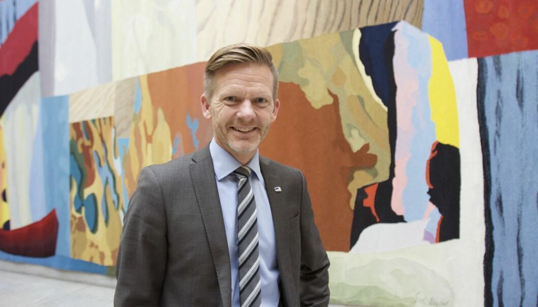 <p>Høyres mediepolitiske talsperson Tage Pettersen. Foto: Glenn Slydal Johansen</p>