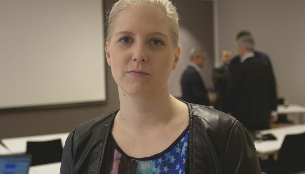 Klubbleder Siv Elisabeth Bjerke er spent på hva transaksjonen mellom eierne får å bety for de ansatte. Foto: Glenn Slydal Johansen