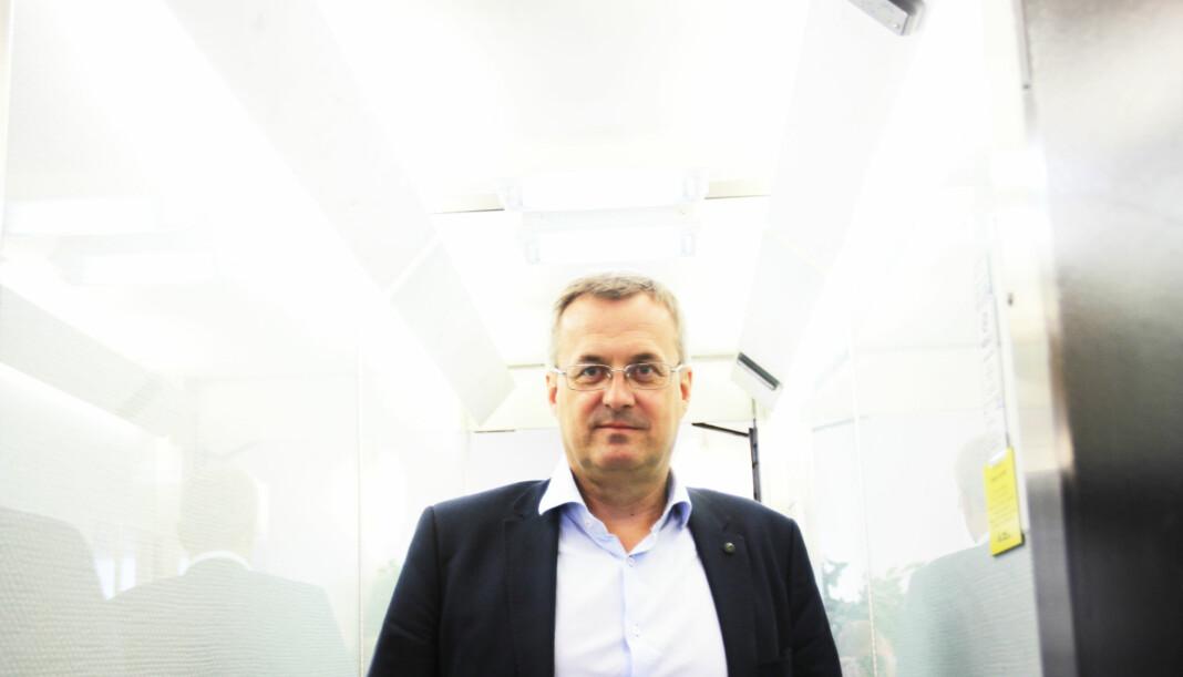 Fagpresse-sjef Per Brikt Olsen har fått 15 nye medlemmer det siste året. 11 fagblader har et opplag på over 100.000. Størst er Motor 391.325. Arkivfoto: Martin Huseby Jensen