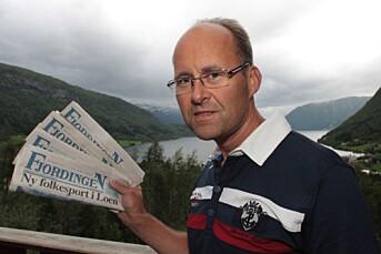 Dersom Posten legger om på leveringen vil fredagsavisen til Fjordingen komme i enkelte postkasser først på tirsdag. – Kritisk for lokalavisene, sier redaktøren