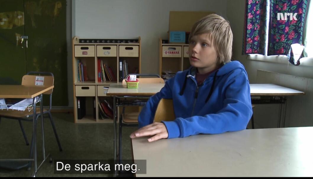 Fra NRK Brennpunkts dokumentar. Foto: NRK