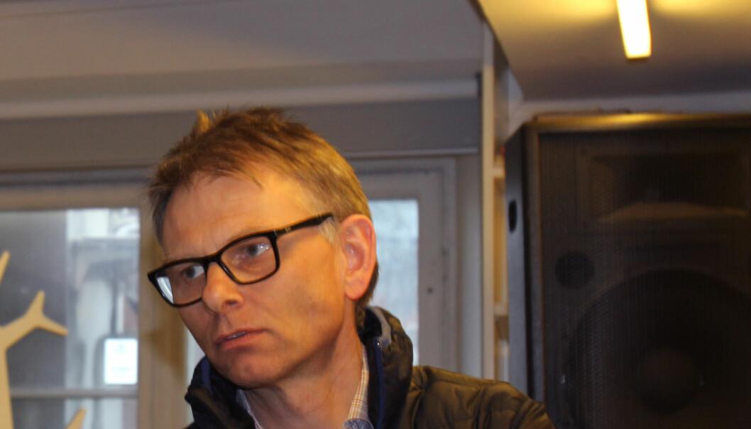 Nyhetsredaktør Ole Kristian Bjellaanes i NTB. Foto: Angelica Hagen