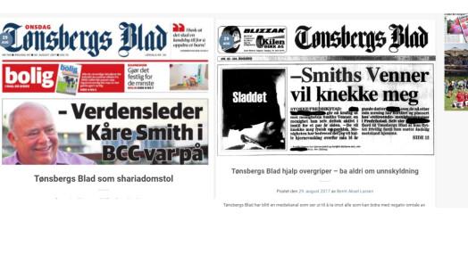 Angriper Tønsbergs Blads journalistikk og anklager avisen for å ha hjulpet overgrepsmann