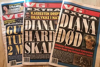 I natt er det 20 år siden prinsesse Diana døde i Paris. Les hvordan VG jobbet den gang nettet ikke var et alternativ