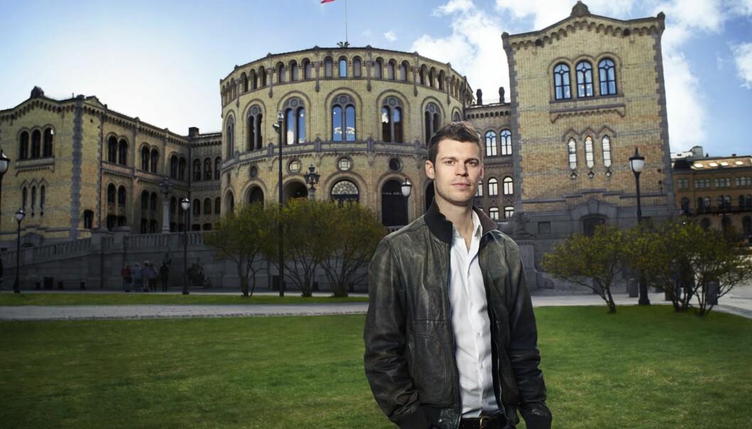 Partileder Bjørnar Moxnes i Rødt. Foto: Steinar Aslaksen/Rødt