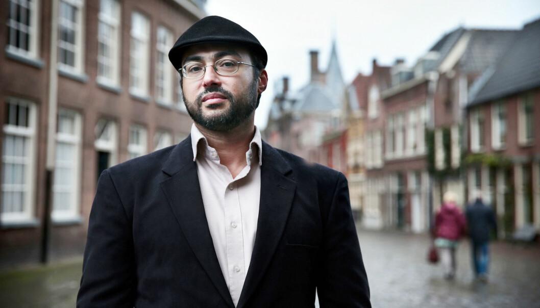 Er du journalist og ikke er på Twitter, da mener  Iyad el-Baghdadi  du er en dinosaur. Foto: Jean-Pierre Jans