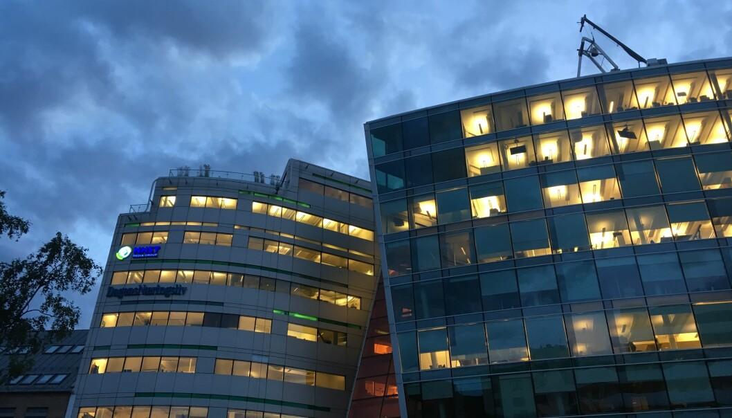 NHST-bygget. Foto: Martin Huseby Jensen