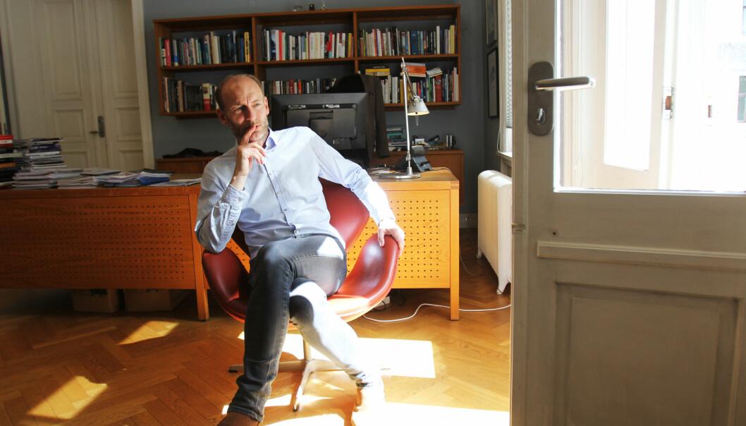 Knut Olav Åmås ledet Mediemangfoldutvalget som la ut sin rapport tidligere i år. Foto: Martin Huseby Jensen.