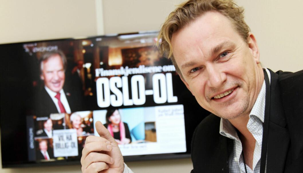 Redaksjonssjef Espen Olsen Langfeldt i VG. Foto: Birgit Dannenberg