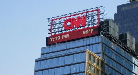 CNN saksøker det amerikanske justis=departementet