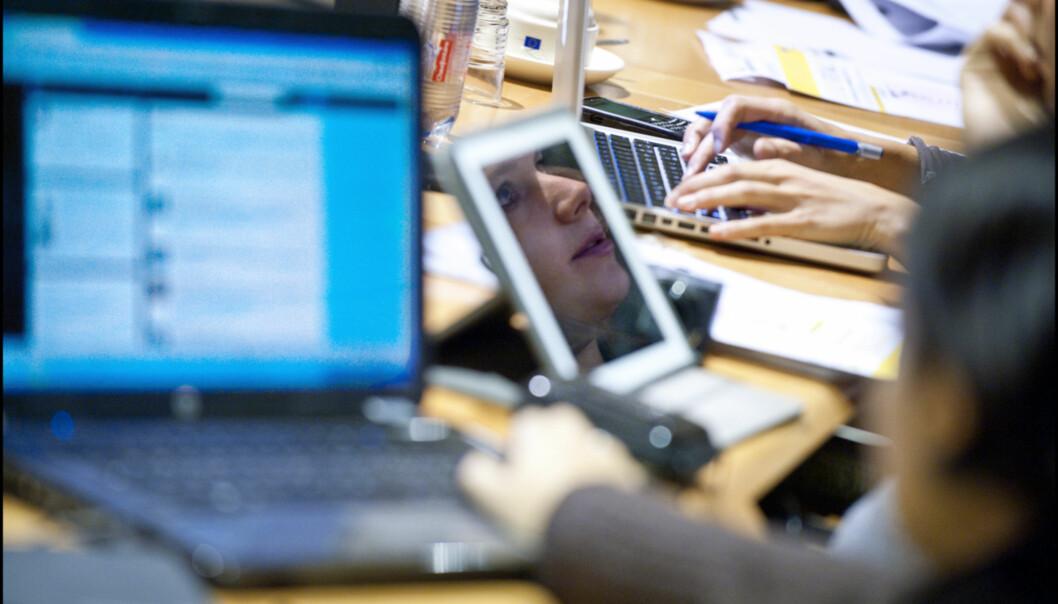 VEKST: Mens de tradisjonelle mediehusene sliter kaprer nye aktører kunder og frilansere. Foto: European Union 2012 - European Parliament