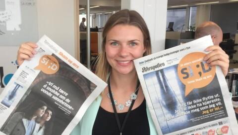 ec65800c Amalie Lereng er Si;D-ansvarlig og har vært reportasjeleder for prosjektet.  Foto