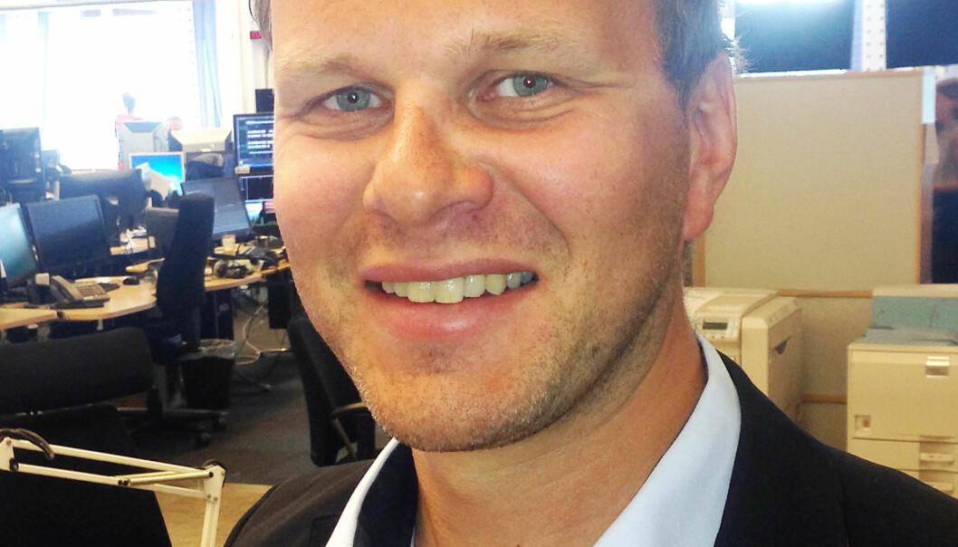 Svein Ove Hansli går fra NRK til stillingen som nyhetsredaktør i Nationen. Arkivfoto privat.