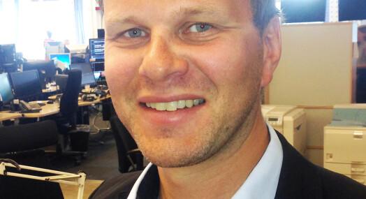 Ny ledergruppe i Nationen – Svein Ove Hansli er ansatt som nyhetsredaktør
