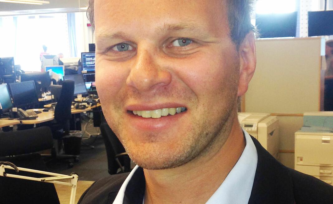 Svein Ove Hansli, nyhetsredaktør i Nationen, håper avisa vil vokse enda mer framover.