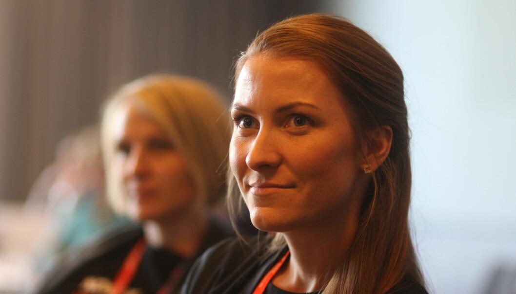 Nå skal Eirin Larsen bli seniorrådgiver ved Statsministerens kontor. Foto: Martin Huseby Jensen.