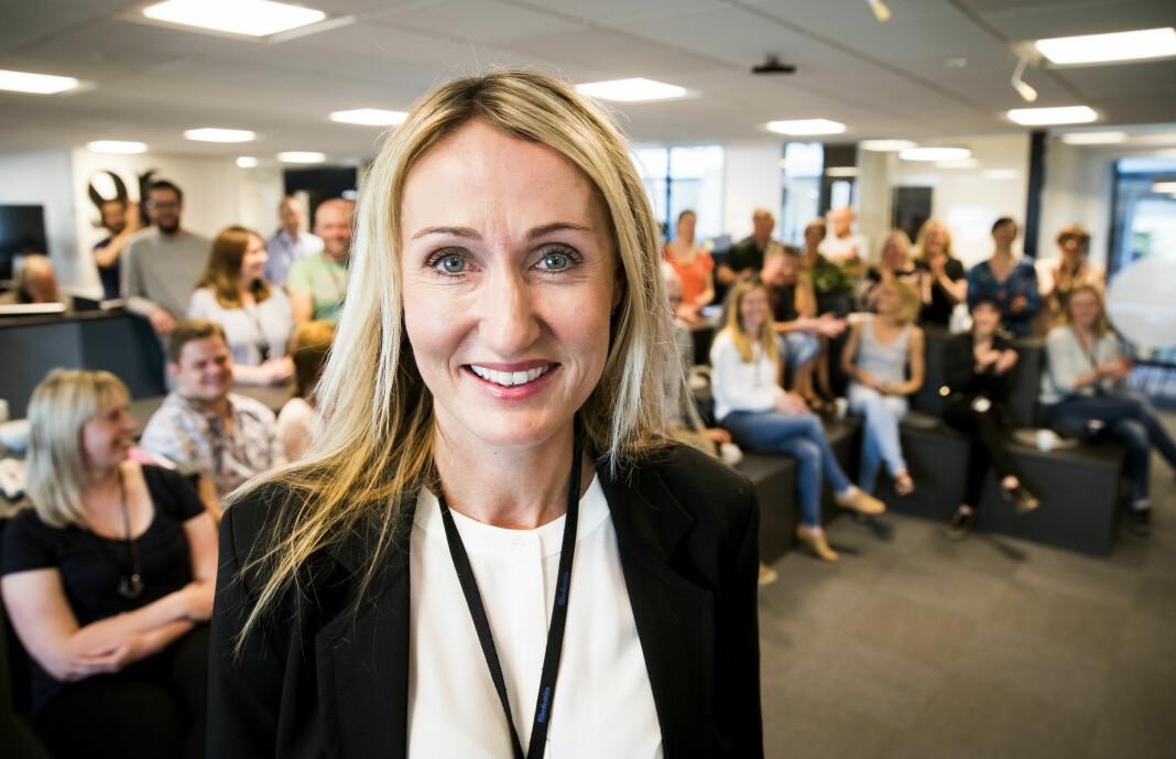 Sjefredaktør Kirsti Husby kunne i dag fortelle staben at Adresseavisen skal ansette 10 nye journalister.