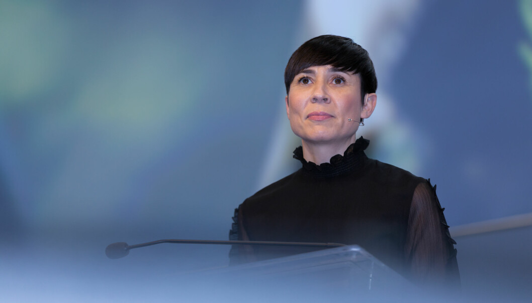 Forsvarsministeren har bestemt seg at Forsvarets forum skal få holde på videre. Foto: Hans Kristian Thorbjørnsen, Høyre