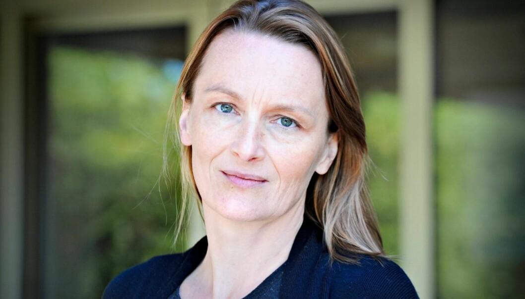 Karianne Braathen reagerte sterkt da presten hennes oppfordret til boikott av avisen hun er politisk redaktør i. Foto: Lisa Selin, Drammens Tidende