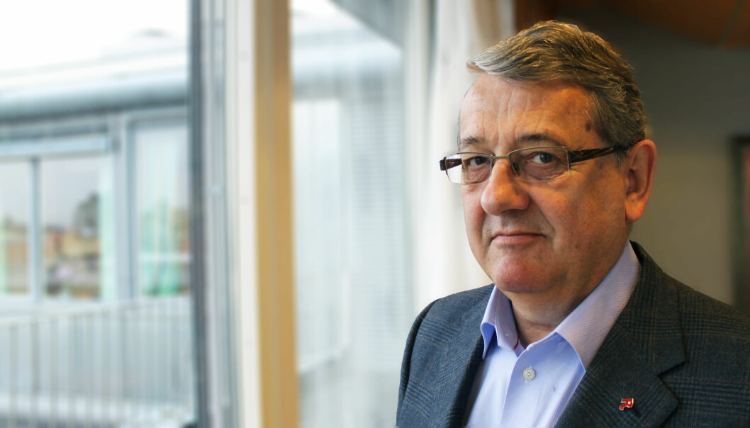 Riksrevisor Per-Kristian Foss. Foto: Riksrevisjonen
