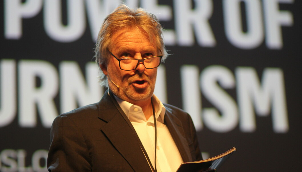 Schibsted-direktør Torry Pedersen. Foto: Angelica Hagen