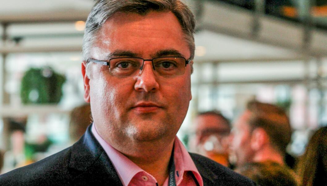 Kjetil Stormark krever beklagelse fra Skup siden han mener Jan Gunnar Furuly ikke uttaler seg som privatperson. Foto: Martin Huseby Jensen