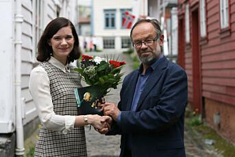 Kristine Ullaland får nynorskstipend på 50 000 kroner frå Noregs Mållag