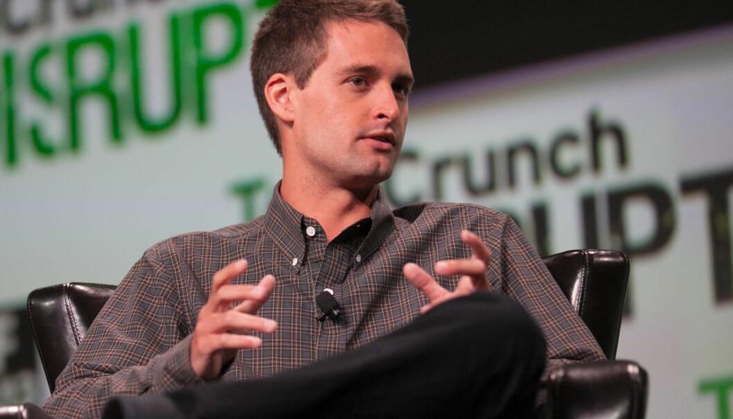 Evan Spiegel er en av grunnleggerne av Snap. Foto: JD Lasica, flickr.