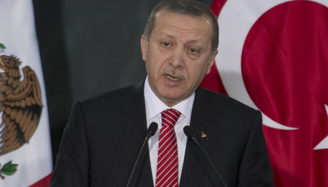 Fornærmet: Recep Tayyip Erdogan, president i Tyrkia. Foto: Flickr.com/Creative Commons