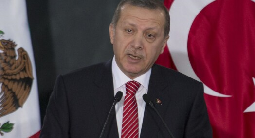 Ukeblad med konkurranse i Erdogan-fornærmelser