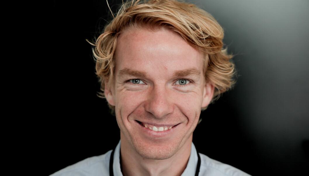 Prosjektleder for personalisering Jørgen Frøland i Polaris Media. Foto: Håvard Jensen i Adresseavisen