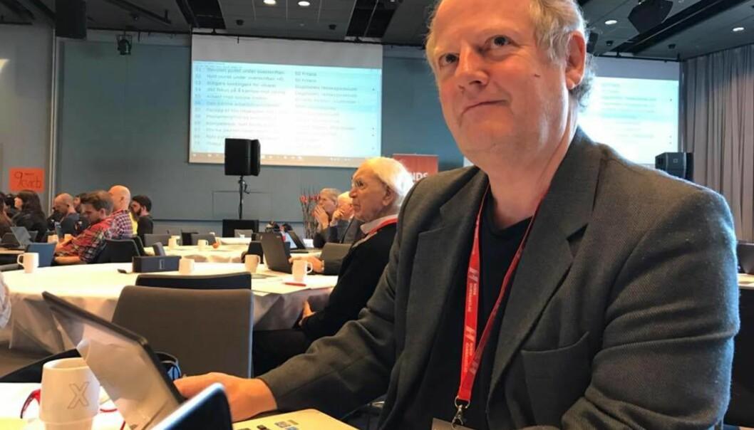 Bjørn Åge Mossin har i en årrekke vært journalist i Journalisten. Foto: Hilde Tretterud