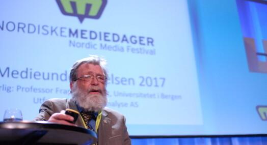 Frank Aarebrot mener kulturministeren er på jordet