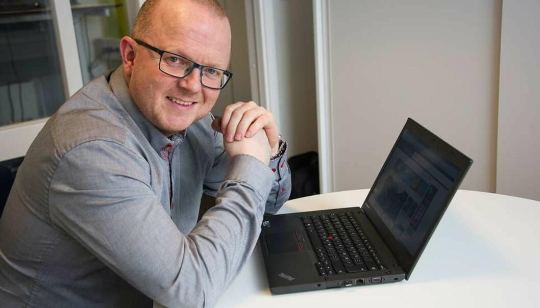 Ansvarlig redaktør Per-Kristian Bratteng i Åndalsnes Avis vil igjen beklage til pårørende Mårten Leikarnes. FOTO: EVY KAVLI