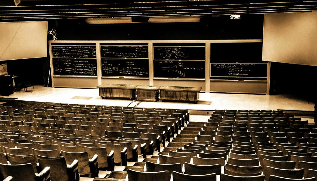 Selv om det i Bodø er usikkerhet knyttet til studienes fremtid, men ved de andre utdanningene er det liten panikk å spore. Foto: Ryan Tyler Smithright, Creative Commons