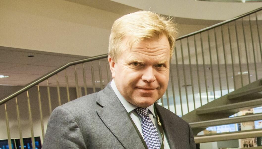 NHSTs konsernsjef Gunnar Bjørkavåg. Arkivfoto Journalisten.-