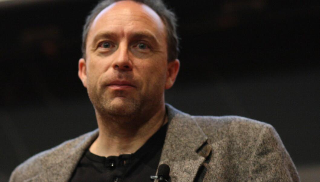 Wikipedia-grunnlegger Jimmy Wales. Foto: Sage Ross, flickr