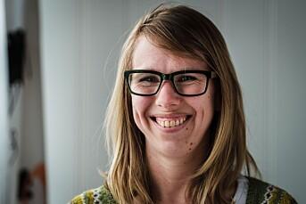 Med armen i gips ble Anniken Sandvik ansatt som ny sjef i Finnmarken