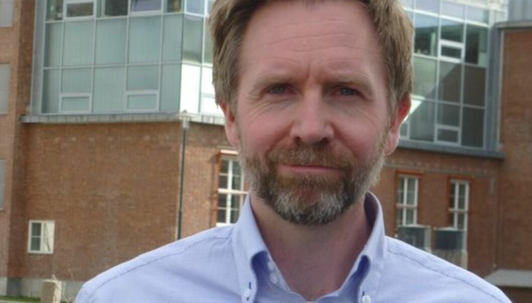 40 år gamle Chris Carlsen blir ny sjef på distriktskontoret med hovedkontor i Drammen. Foto: NRK