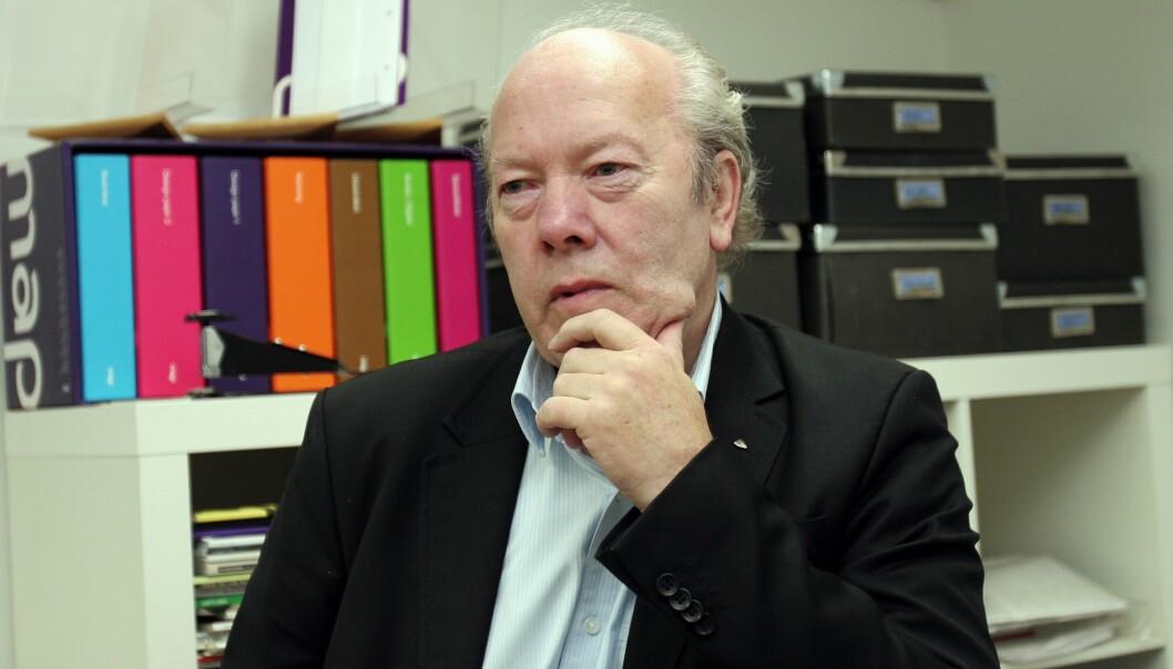 Nils E. Øy er tidligere generalsekretær i Norsk Redaktørforening. Foto: Birgit Dannenberg