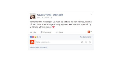 Lisa Tønne slaktet ektemannen på podcast. Kan utløse erstatningskrav, sier advokat