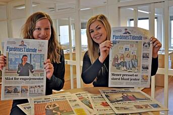 Lokalavisen Fjordenes Tidende heier på damene