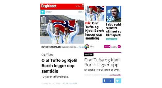 Olaf Tufte lurte Dagbladet trill rundt, men bidro samtidig til at usann historie ble publisert