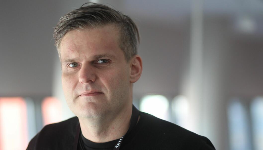 Kenneth Hætta ville sammen med Harald Amdal lage journalistikk som berørte folk. I helgen er de to sammen med VG nominert til Skup-prisen for Tysfjord-saken. Foto: Martin Huseby Jensen