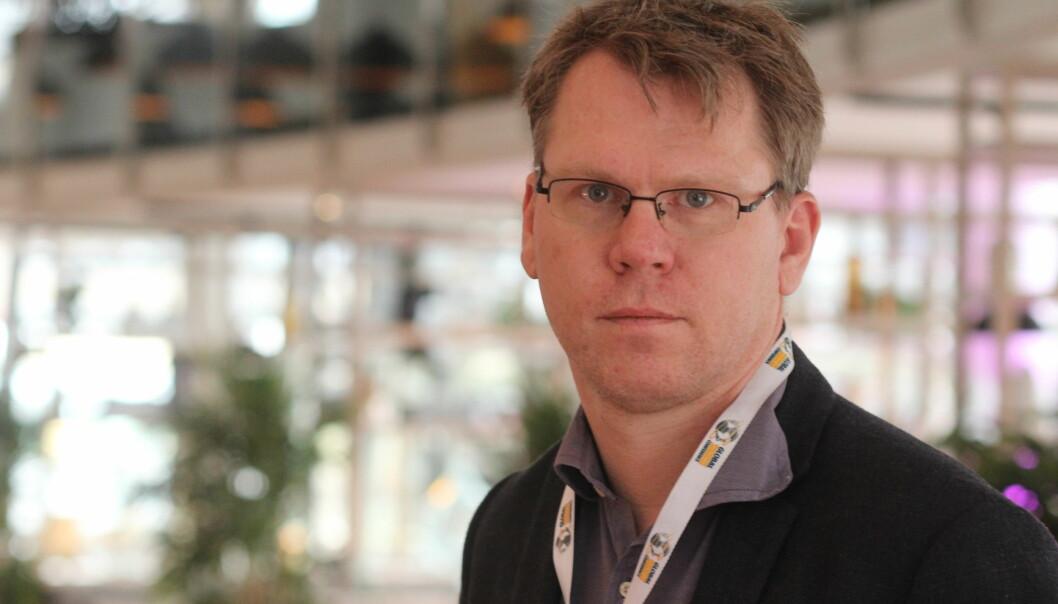 Jens Egil Heftøy har så langt ikke kommentert anklager og anmeldelse, men hans advokat sendte en kommentar til Skups årsberetning. Her fra fjorårets Skup. Foto: Martin Huseby Jensen