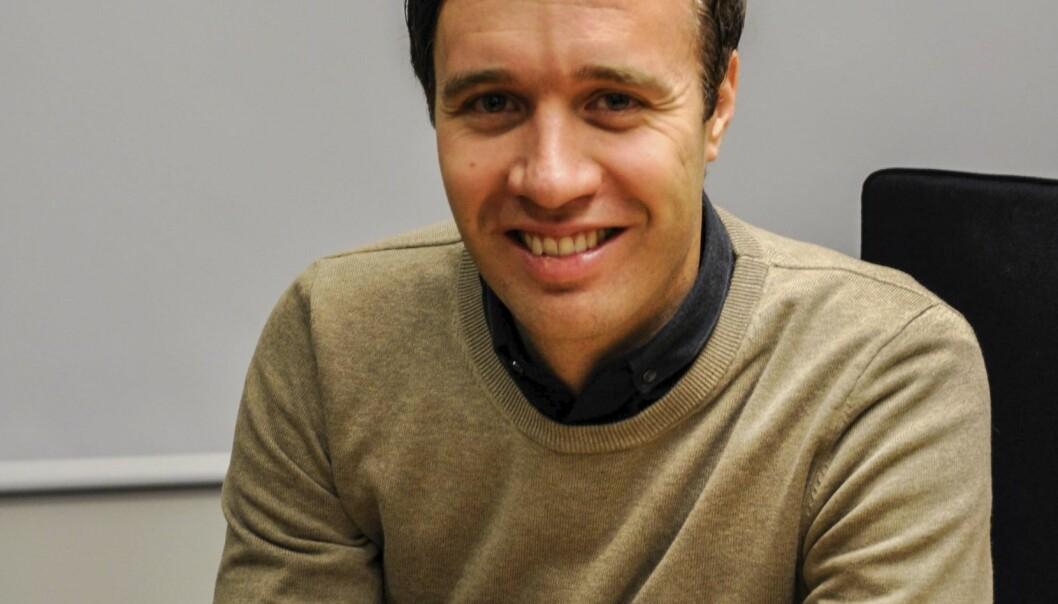 Sjefsredaktør i Finnmark Dagblad, Arne Reginiussen.