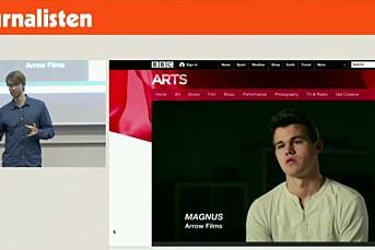 Se VGTVs Benjamin Ree fortelle om sin utvikling som journalist og veien fram til suksessfilmen om Magnus Carlsen