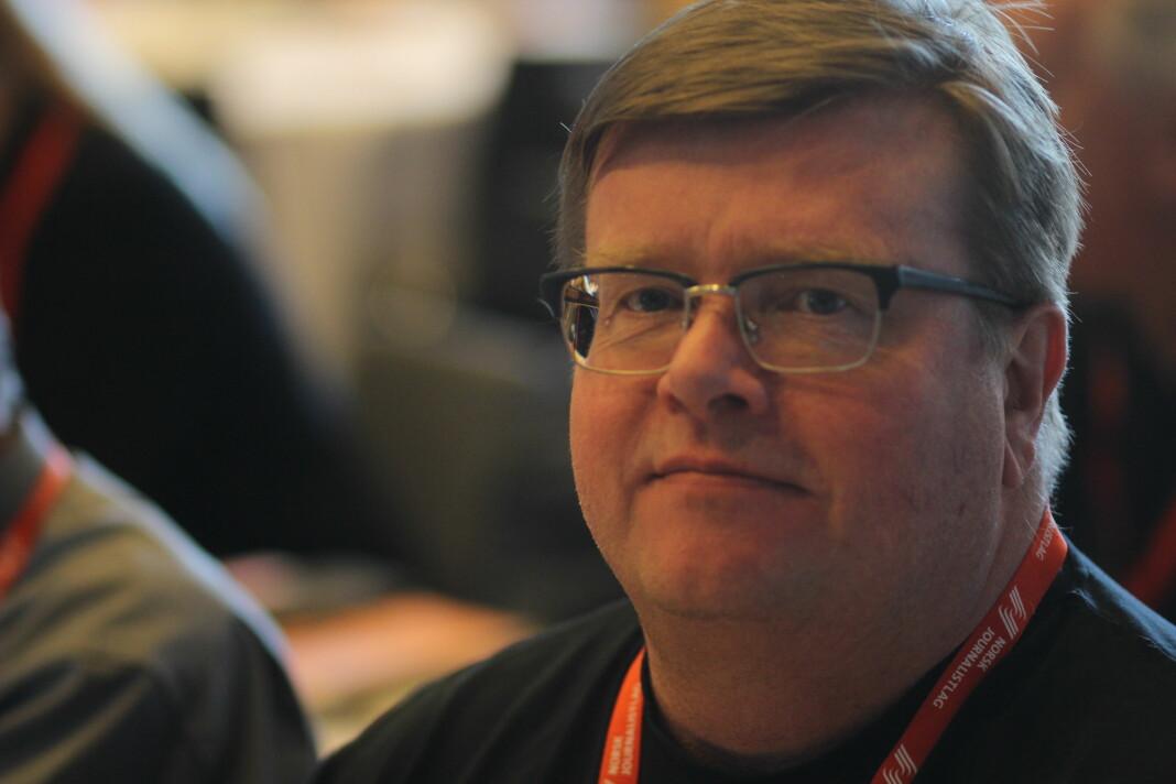 Rolf Johansen er innstilt som ny leder i NRKJ. Foto: Journalisten