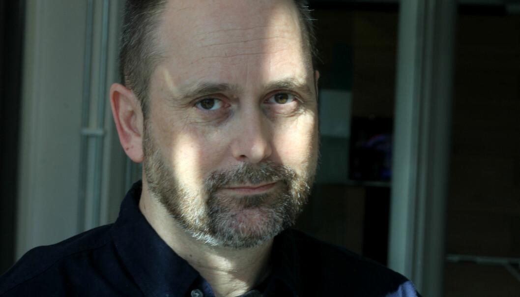Pressefotografenes nye leder Jarle Aasland håper på mer debatt om faget. Foto: Martin Huseby Jensen