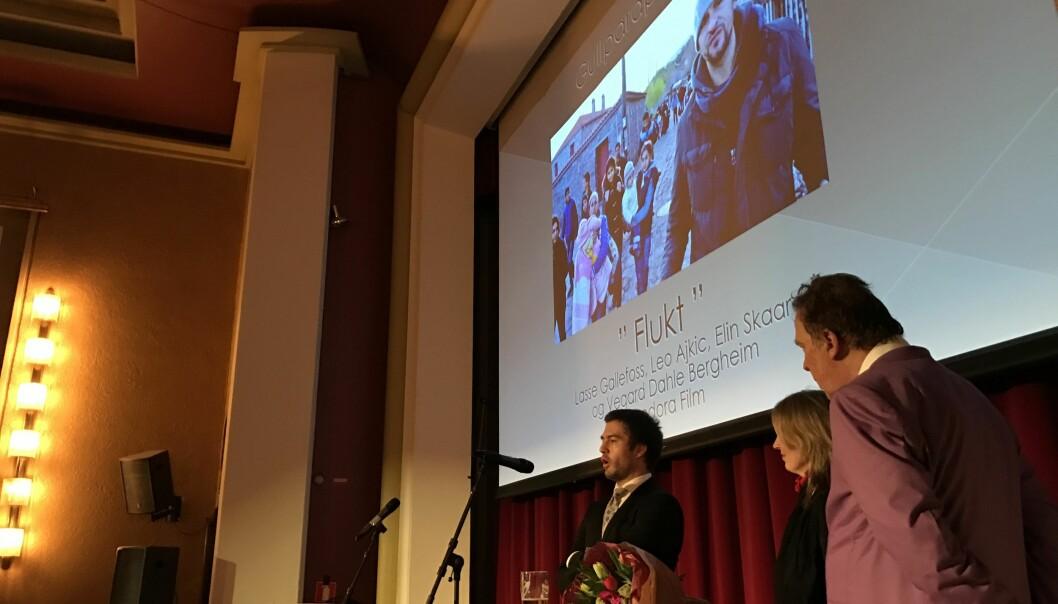 Flukt vant Gullparaplyen fredag kveld. Foto: Yngve Garen Svardal